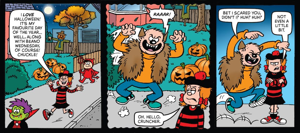 Beano Issue 4008 - Minnie the Minx