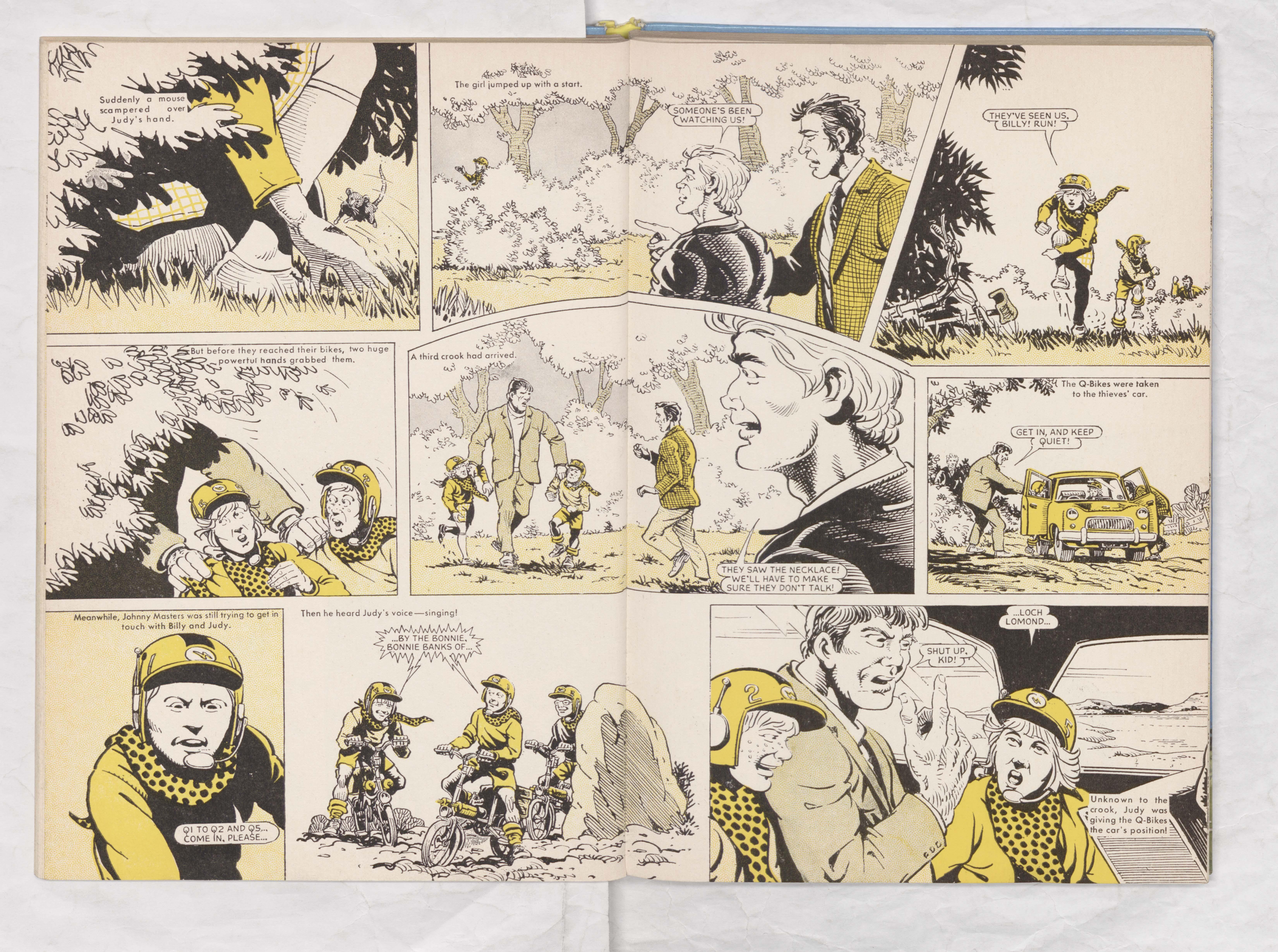 Beano Book 1970 - Q-Bikes - Page 4 + 5