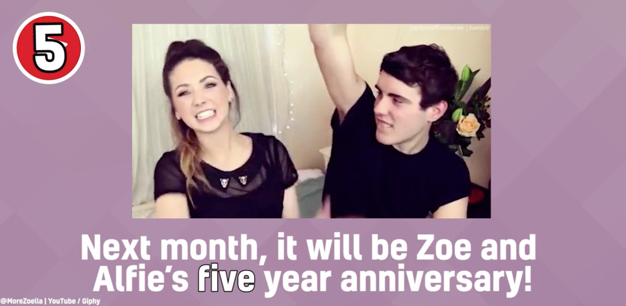 Zoella, YouTube beauty vlogger –and her boyfriend Alfie