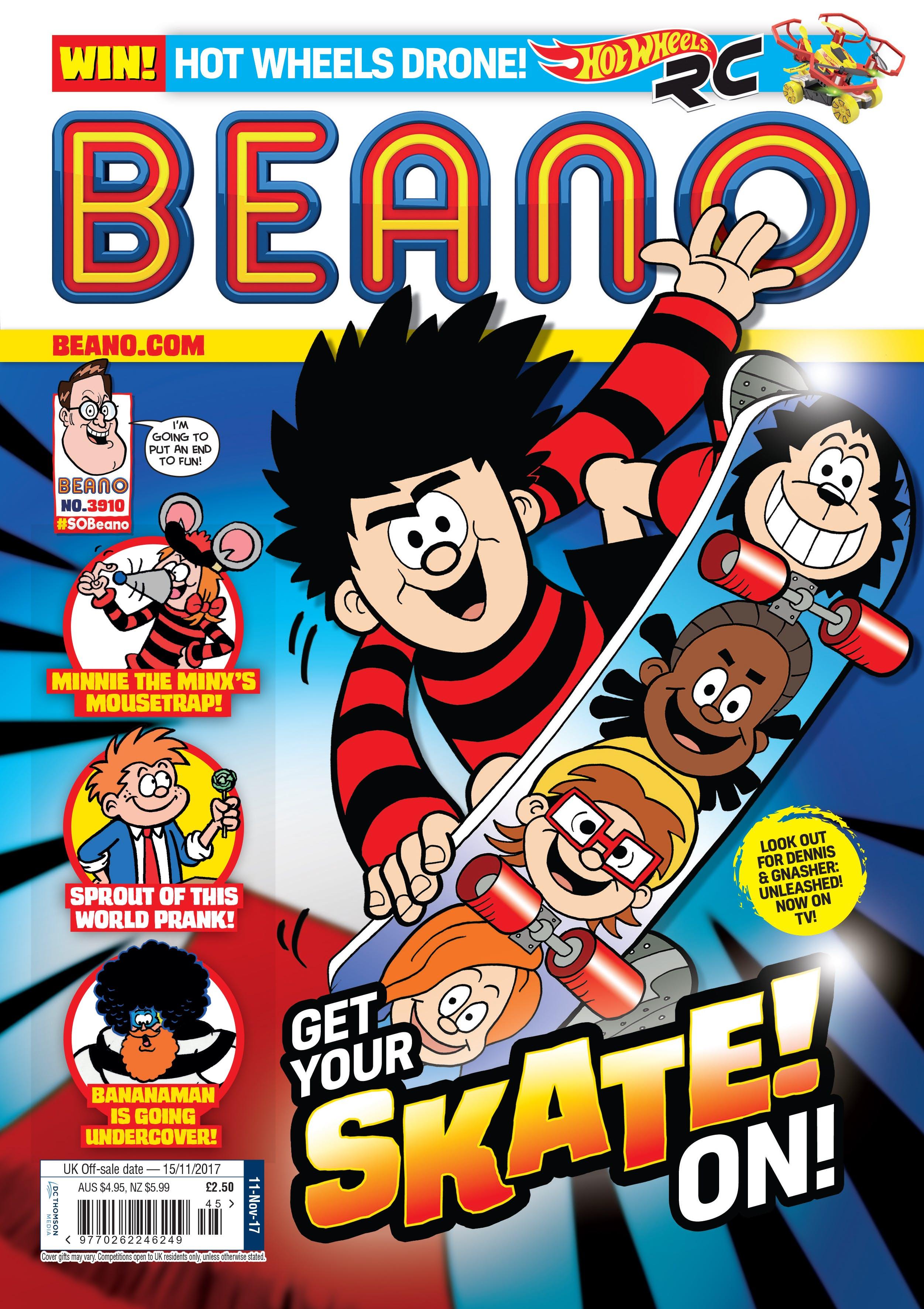 Beano Issue No 3910