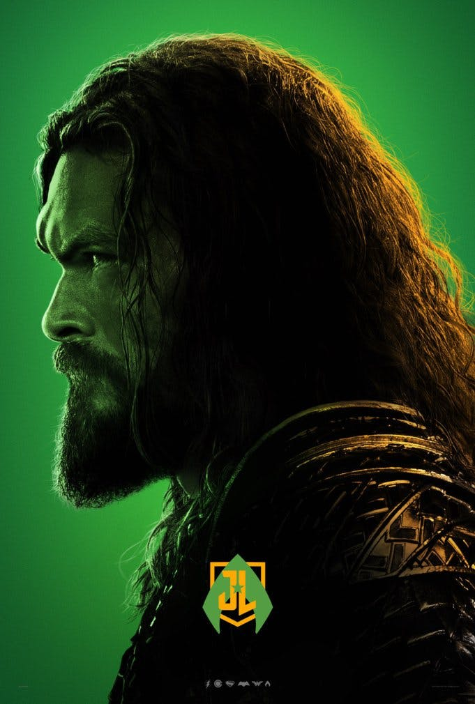 Aquaman poster for Justice League