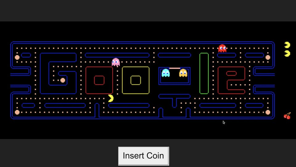 Google Pacman trick | Google Hacks