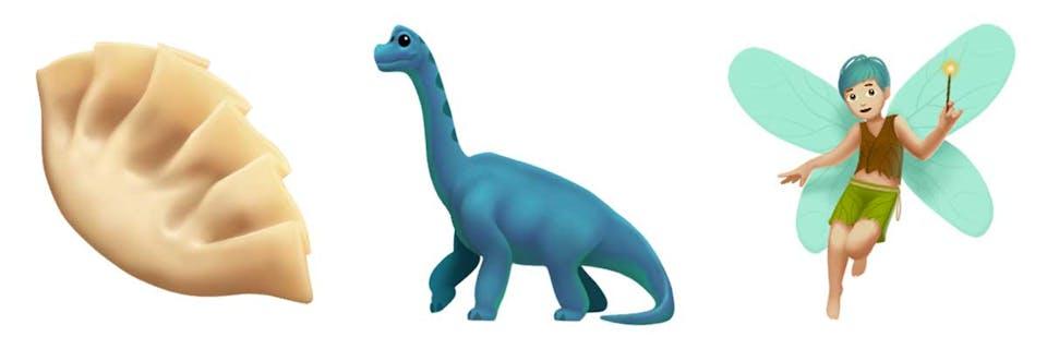 Dim sum! A dinosaur! A fairy!
