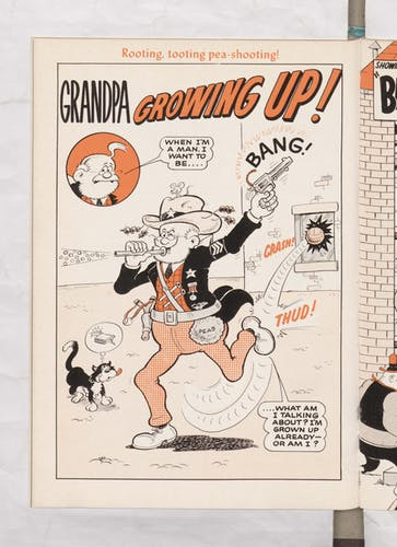 Beano Book 1976 Annual - Grandpa grows up