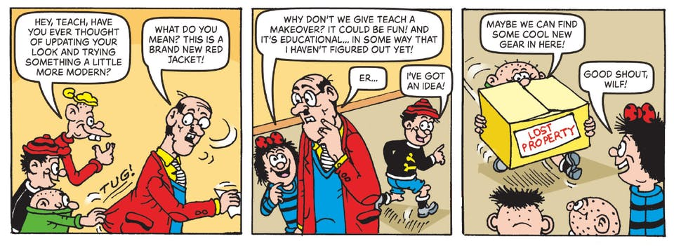 Inside Beano 4017 - Bash Street Kids