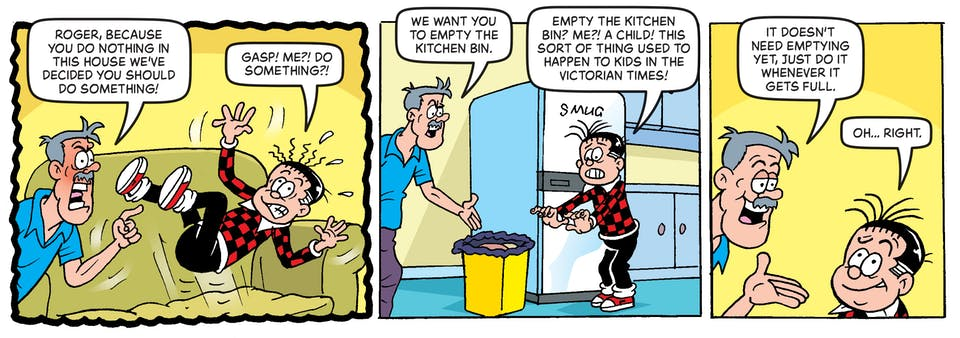 Inside Beano no. 4052 - Roger the Dodger