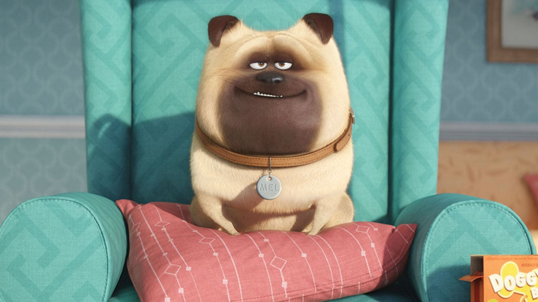 Mel from The Secret Life of Pets