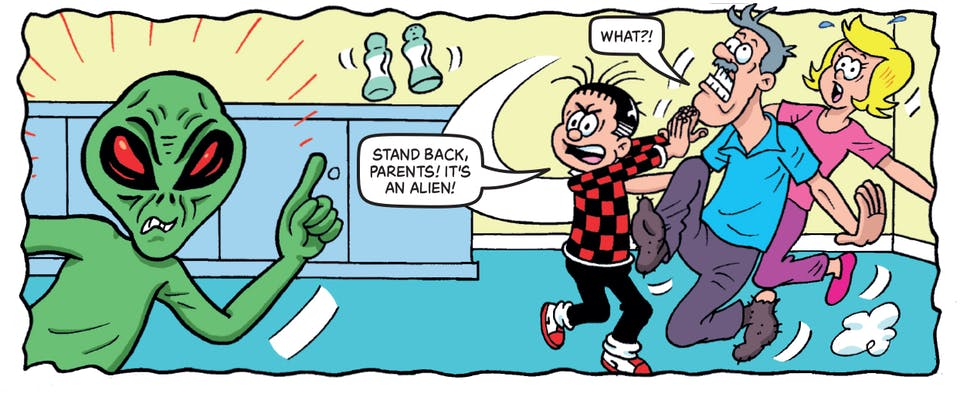 Inside Beano no. 3989 - Roger the Dodger