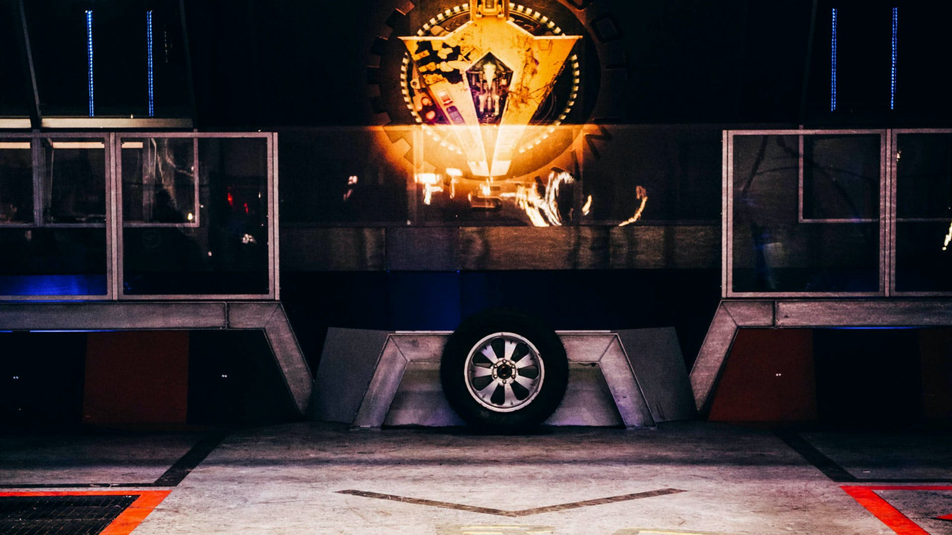 The Arena from Robot Wars