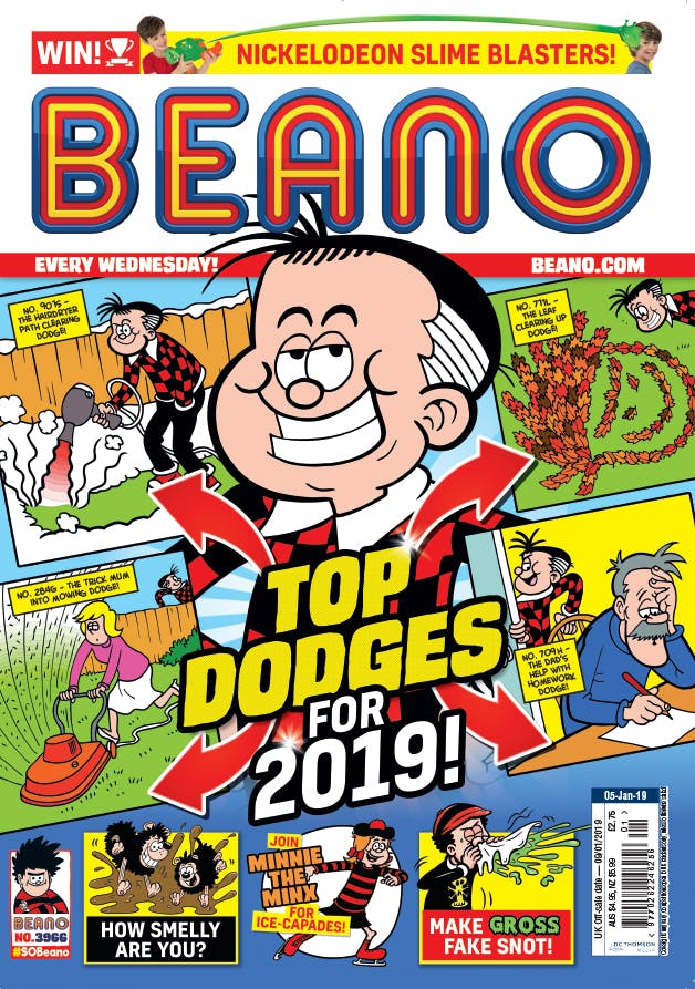 Inside Beano 3966 - Roger and his Dodges