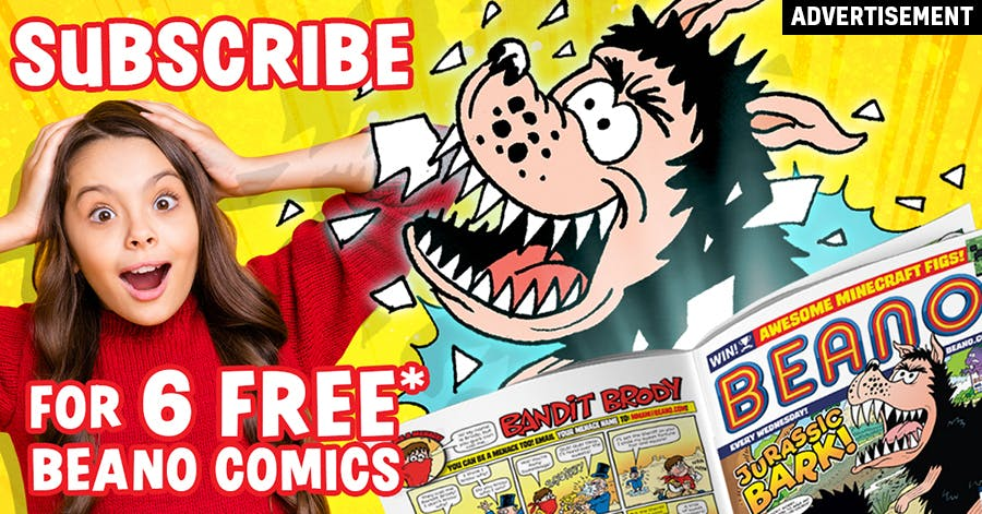 Subscribe to the Beano comic